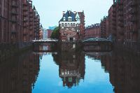 Hamburg Wasserschloss, Germany