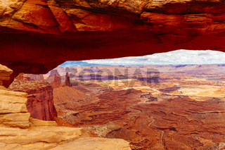 Mesa Arch, Canyonlands National Park near Moab, Utah, USA