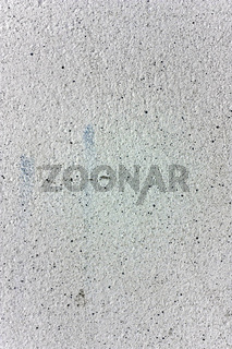verputzte Wand