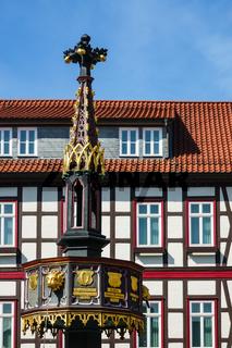 Gebäude in Wernigerode im Harz