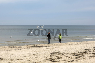 Ostseestrand in Binz