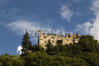 Schloß in Südtirol, Italien, Castle in South Tyrol, Italy