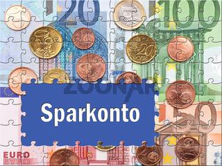 Sparkonto - Euro