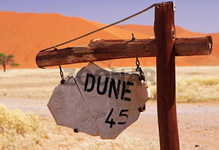Düne 45, Namib-Wüste, Namibia; Dune 45, Namib-Desert