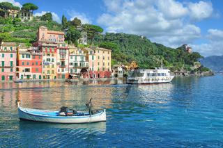 Portofino an der Italienischen Riviera,Ligurien,Italien