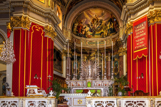 Saint Publius Church Floriana Valletta Malta