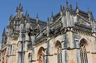 Dominican monastery of Santa Maria da Vitoria in Portugal