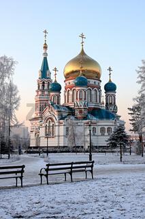 Uspenskiy cathedral.