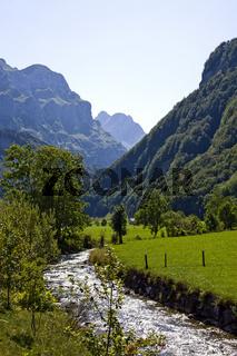 Wasserauen bei Appenzell, Schweiz