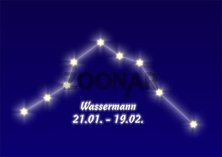 Wassermann, Aquarius