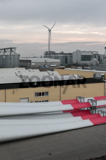 Produktion von Windkraftanlagen bei ENERCON