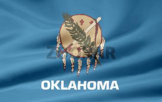 Flagge von Oklahoma - USA