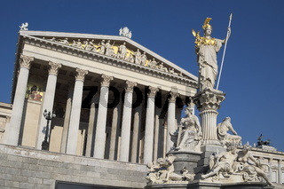 Wien - Parlamentsgebäude