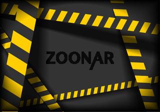 Danger Lines Background