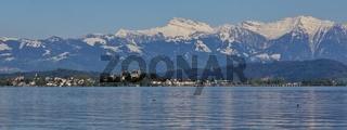 Springtime at lake Zurichsee