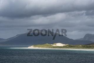 Der Sandstrand Luskentyre Beach, Isle of Harris