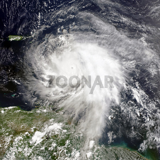Hurricane Maria. Elements of this image furnished by NASA.