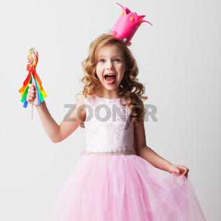 Candy princess girl