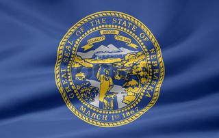 Flagge von Nebraska - USA