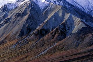 Mount Eielson und herbstliche Tundralandschaft / Denali Nationalpark  -  Alaska