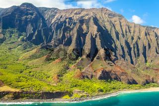 napali coast kawaii island hawaii