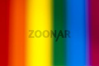 Verschwommene Regenbogenfarben