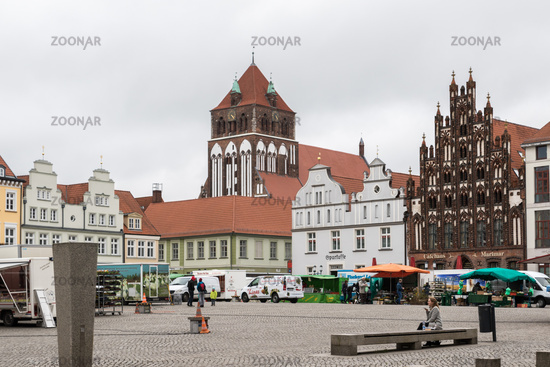 Greifswald in Mecklenburg-Vorpommern