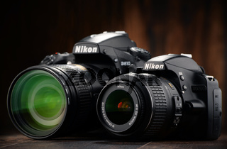 Nikon D810 and D3200 with nikkor zooms
