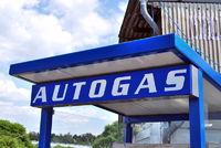 Autogas Tankstelle