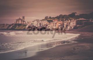 Beach on the outskirts of Ponta Delgada