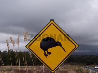 Der Wappenvogel Neuseelands
