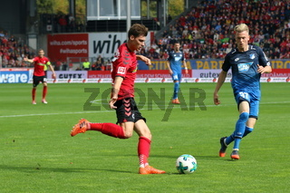 1. BL: 17-18 - 7. Spieltag -  SC Freiburg vs. TSG 1899 Hoffenheim