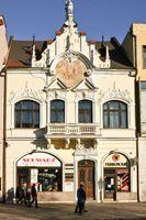 Hauptstrasse in Kaschau (Slowakei)