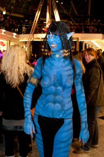 Body Painting von Enrico Lein, Weltmeister im Bodypainting