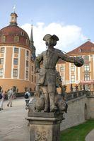 Statue Schloss Moritzburg