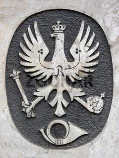 Gedenktafel an eine Poststation in Hess. Oldendorf