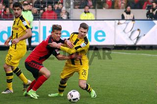 1. BL: 16-17 - 22. Spieltag -  SC Freiburg vs. Borussia Dortmund