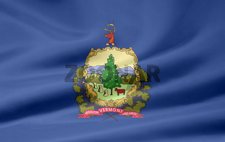 Flagge von Vermont - USA