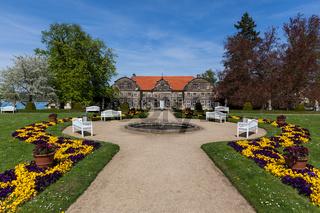 Landschaftspark kleines Schloss Blankenburg Harz