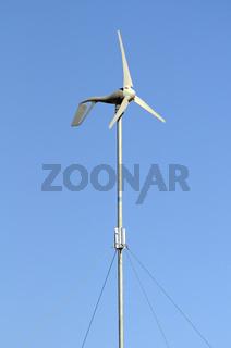 Windgenerator zur Versorgung privater Haushalte