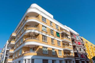 Moderne Wohnhäuser in Berlin