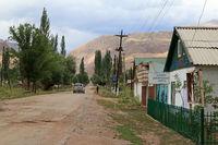 Kyzyl Oi im Kökömeren-Tal, Jumgal Distrikt, Kirgistan