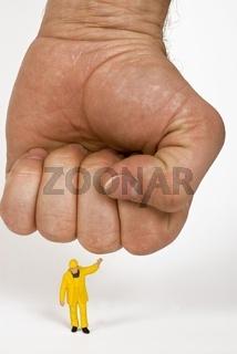 Symbolbild Unterdrückung am Arbeitsplatz