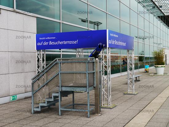 Besucherterrasse Airport Frankfurt