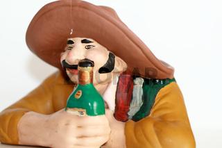 Mexikaner an der Theke