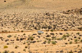 Halbwüstenlandschaft des Goegap Naturreservats