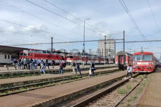Bahnhof Kaschau in der Slowakei