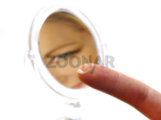 Kontaktlinse / contact lens