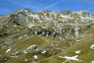 Nebelhorn, Novemberstimmung, bay, blick vom zeigersattel am nebelorn, deutschland, bavarian alps, mountain landscape, germany