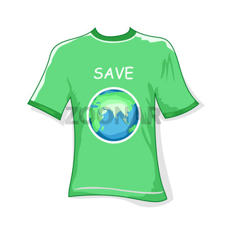 save earth t-shirt